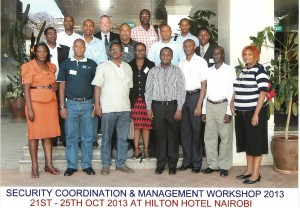 Security Coordination and Management, Kenya, Autumn 2013